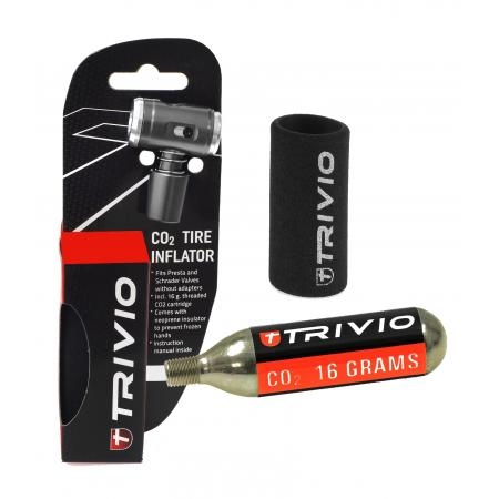 Trivio CO2 Adapter Neoprene Huls -